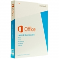 Microsoft Office 2013 Home & Business OEM Product Key Card